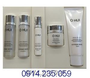 Bo Ohui Extreme White - Bộ Mỹ phẩm mini Ohui Extreme White