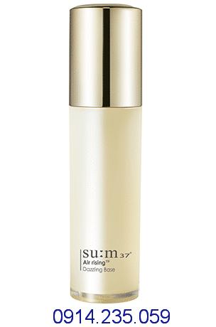Kem lót trang điểm Sum37 bột ngọc trai dưỡng trắng ngăn ngừa lão hóa Air Rising TF Dazzling Base - Kem lót trang điểm Su:m37 bột ngọc trai dưỡng trắng
