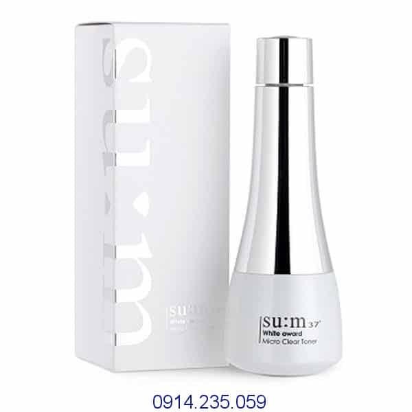 Nước hoa hồng dưỡng trắng da ẩm mịn Sum37 - Nước hoa hồng dưỡng trắng da ẩm mịn Su:m37