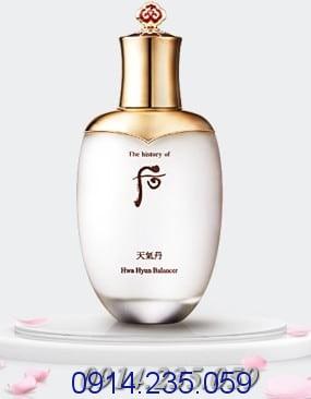 Nuoc hoa hong Whoo Cheongidan Hwa Hyun Balancer - Nước hoa hồng Whoo Whitening Skin Balancer