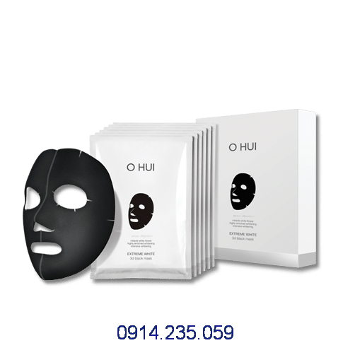 Ohui Extreme White 3D Black Mask - Ohui Extreme White 3D Black Mask
