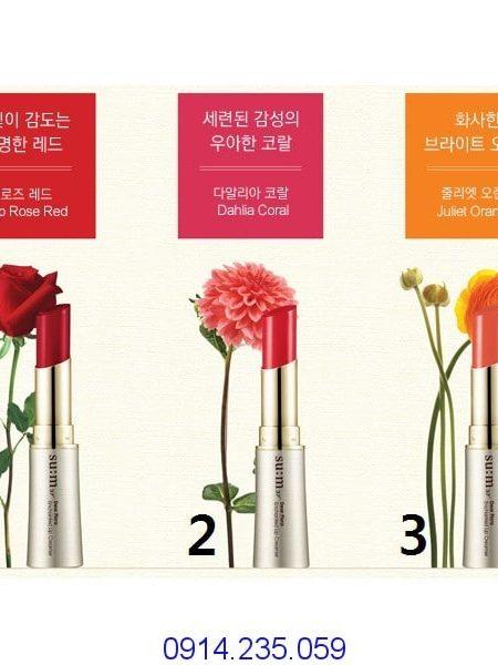 Son môi Sum37 sắc màu rực rỡ thời trang Dear Flora Enchanted Lip Creamer 450x600 - Son môi Su:m37 sắc màu rực rỡ thời trang