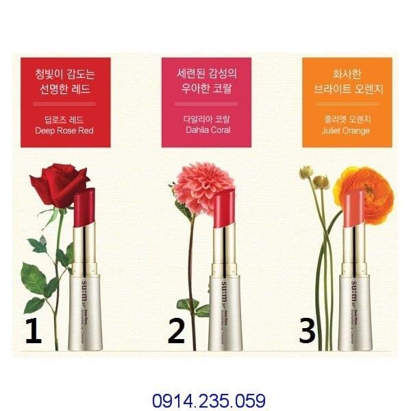 Son môi Sum37 sắc màu rực rỡ thời trang Dear Flora Enchanted Lip Creamer - Son môi Su:m37 sắc màu rực rỡ thời trang