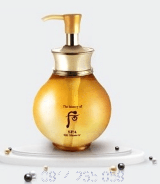 Sữa tắm WhooThe History of Whoo Spa Oil Shower - Sữa tắm WhooThe History of Whoo Spa Oil Shower